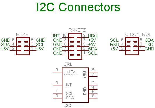 I2c-Stecker